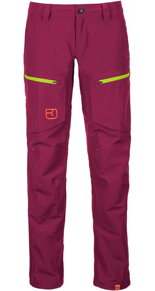 Ortovox W's Vintage Cargo Pants (MI) Dark Very Berry